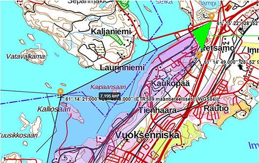 Lausunto Tilapaisen Vaara Alueen Efd603 Stora Enso Imatra
