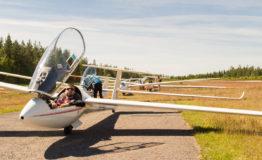 Nummelan fly out -leiri aktivoi purjelentäjät