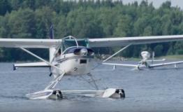 Hauho Splash In kokosi vesilentäjät Hauhon Ilorantaan. Katso video!