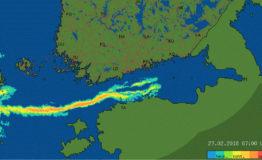 Lumitykkejä ja merikäärmeitä – avoveden vaikutus lumisateeseen